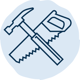 Hammer and Saw